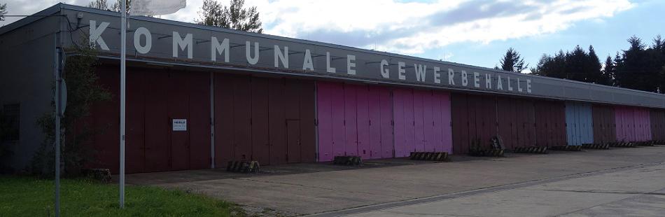 Kommunale Gewerbehalle